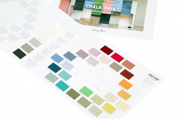 Annie Sloans Colour Card