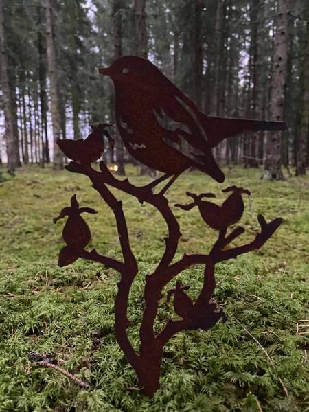 Fugler på greiner